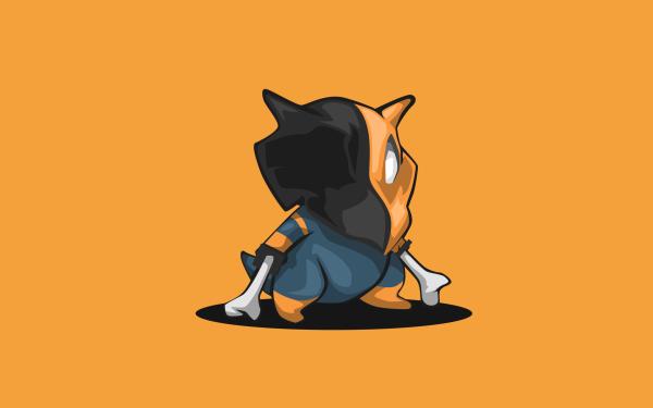 Anime Pokémon Cubone Deathstroke HD Wallpaper   Background Image
