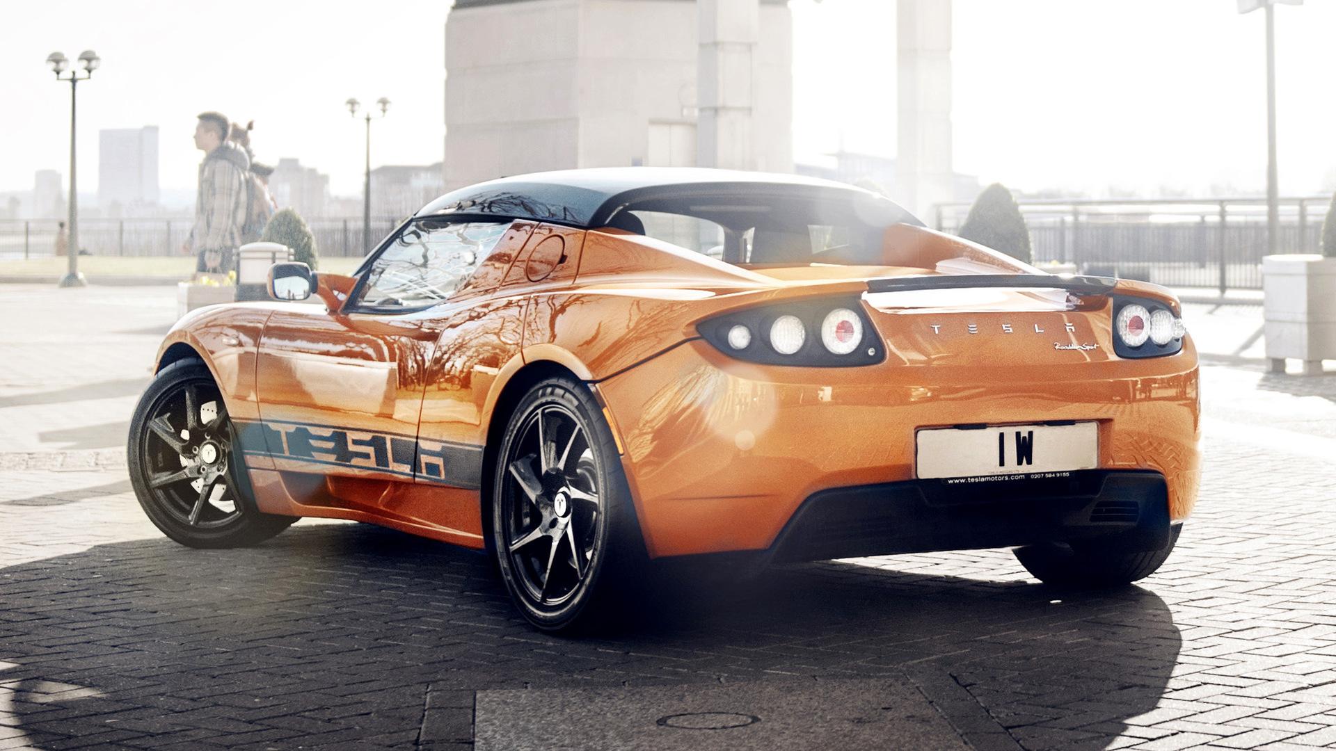 2010 Tesla Roadster Sport HD Wallpaper | Background Image ...