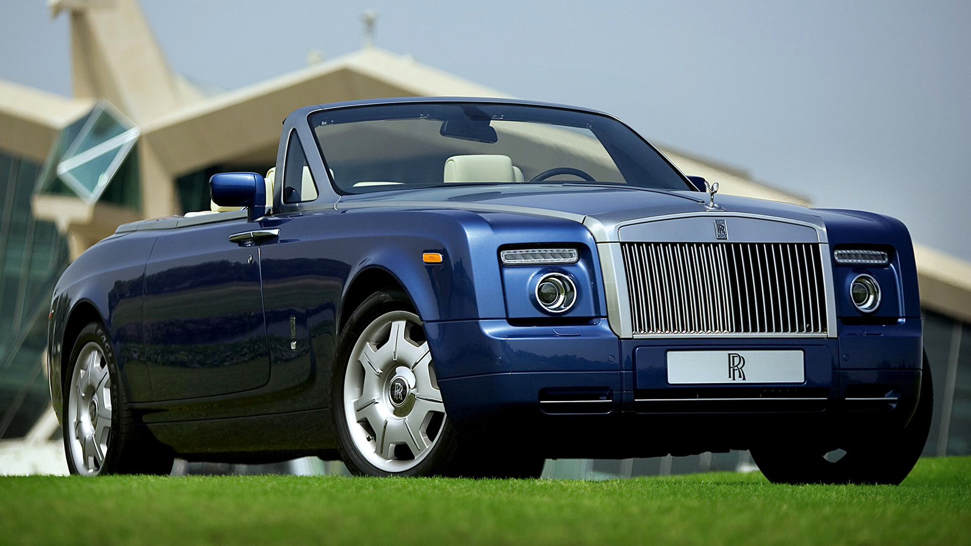 Обои phantom, drophead, Rolls royce. Автомобили foto 10