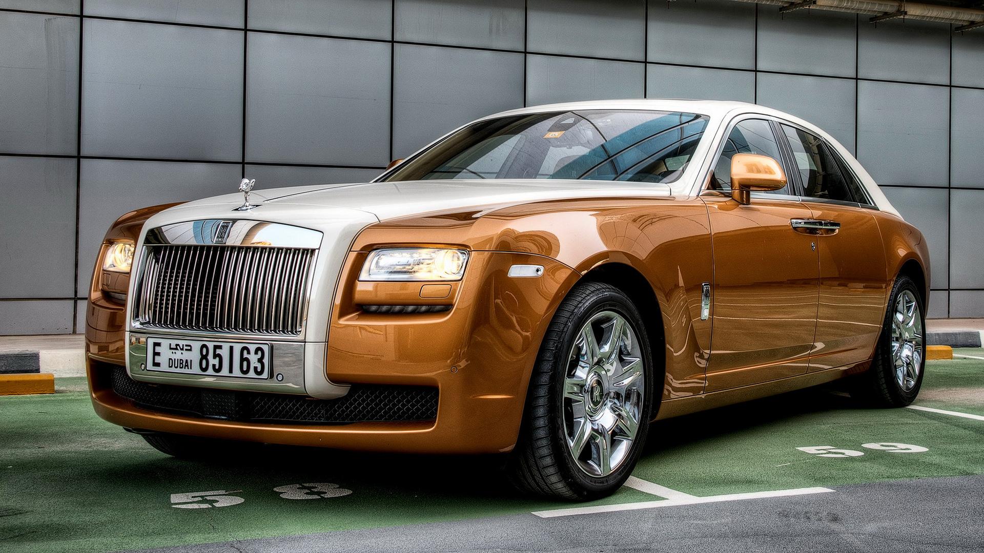 2009 Rolls-Royce Ghost HD Wallpaper   Background Image ...