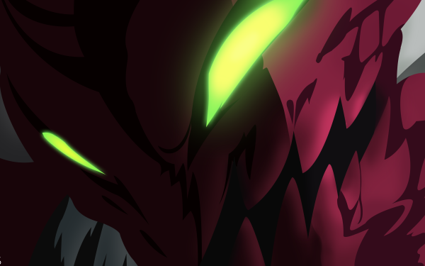 Anime The Seven Deadly Sins Galand Green Eyes Glowing Eyes Close-Up HD Wallpaper   Background Image