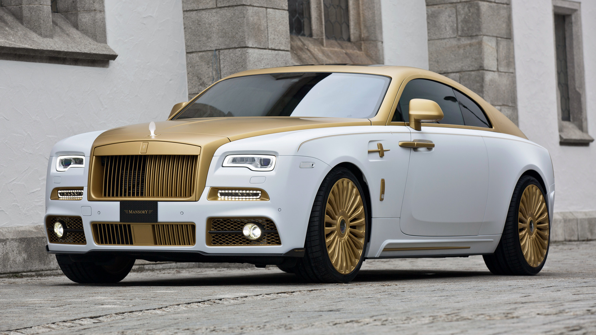 2016 Rolls Royce Wraith Palm Edition 999 By Mansory HD Wallpaper