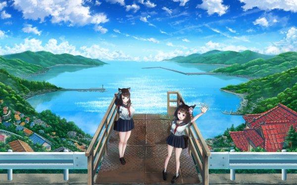 Anime Azur Lane Yamashiro Fusou HD Wallpaper   Background Image