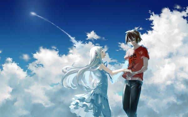 Anime Anohana Meiko Honma Jinta Yadomi HD Wallpaper | Background Image