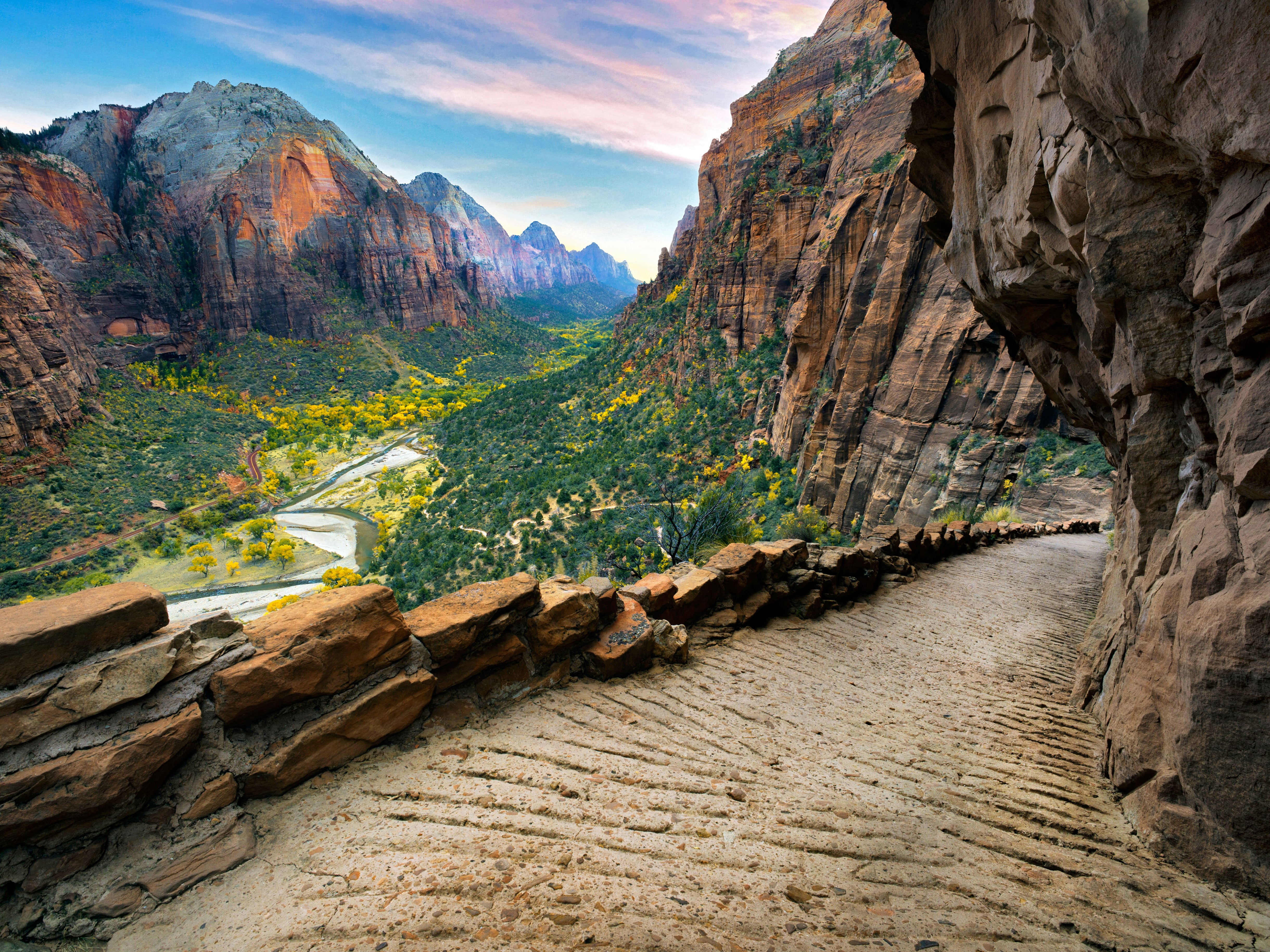 Angel S Landing In Zion National Park 4k Ultra Hd Wallpaper