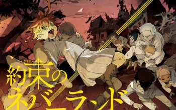 63 The Promised Neverland Hd Wallpapers Background Images