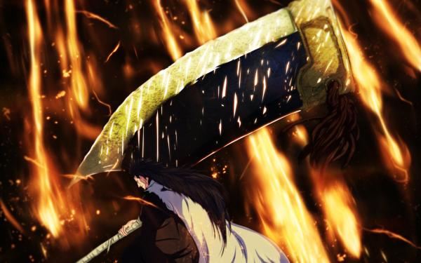 Anime Bleach Kenpachi Zaraki Bankai HD Wallpaper | Background Image