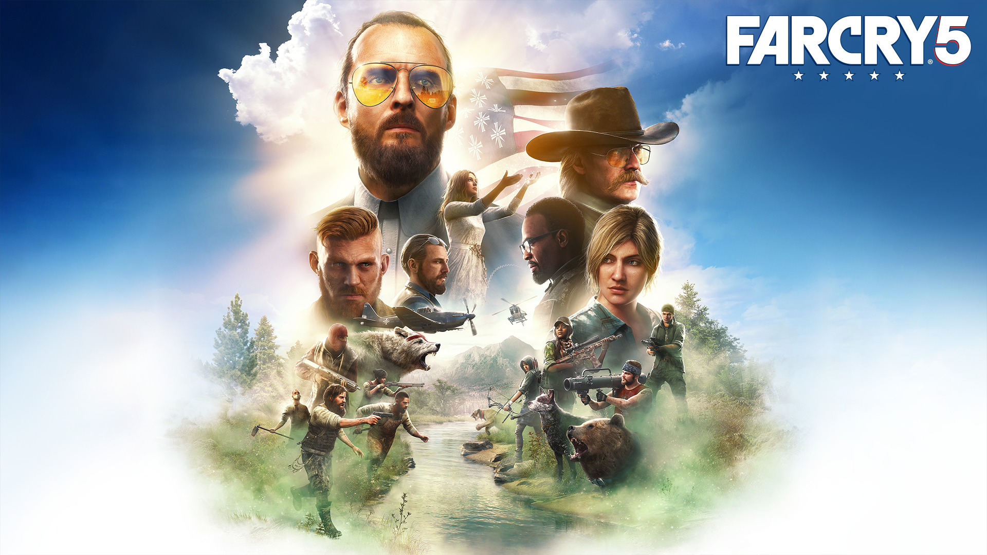 Far Cry 5 Main Characters HD Wallpaper   Background Image ...