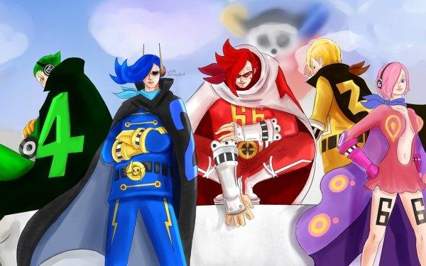 Anime One Piece Sanji Reiju Vinsmoke Ichiji Vinsmoke Niji Vinsmoke Yonji Vinsmoke HD Wallpaper | Background Image