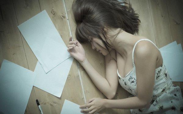 Women Asian Brunette Model Woman HD Wallpaper   Background Image