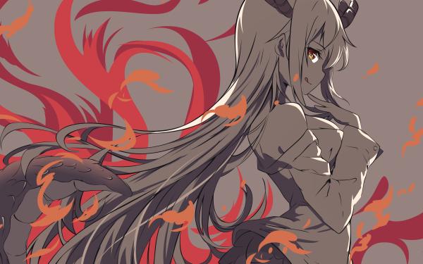 Anime Miss Kobayashi's Dragon Maid Tohru HD Wallpaper | Background Image