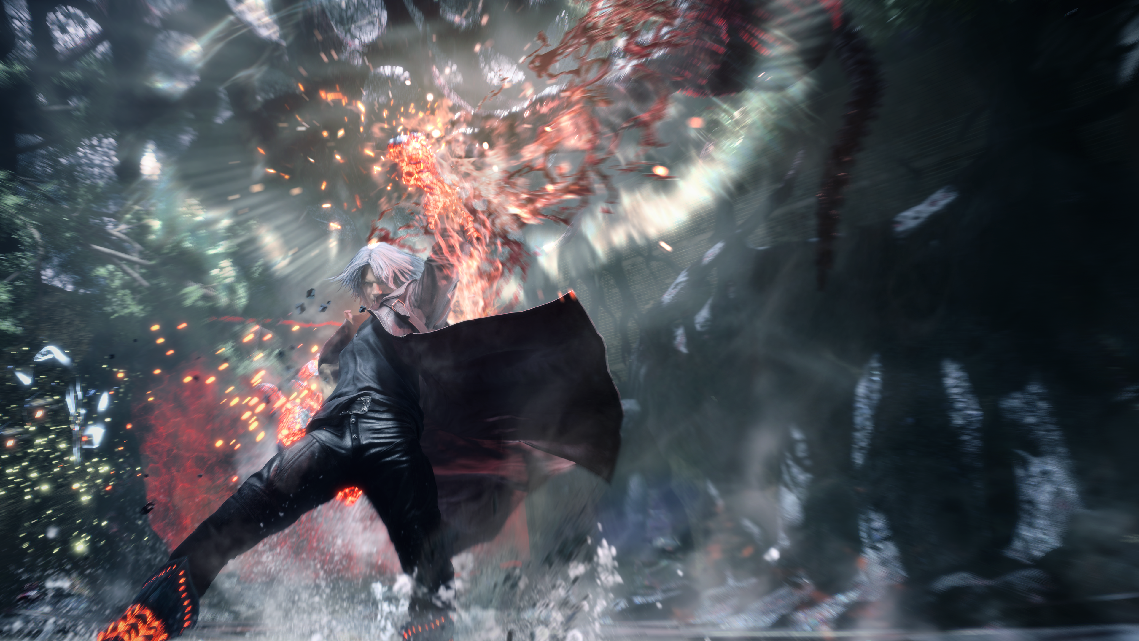 Devil May Cry 5 Dante 4k Ultra Hd Wallpaper Background
