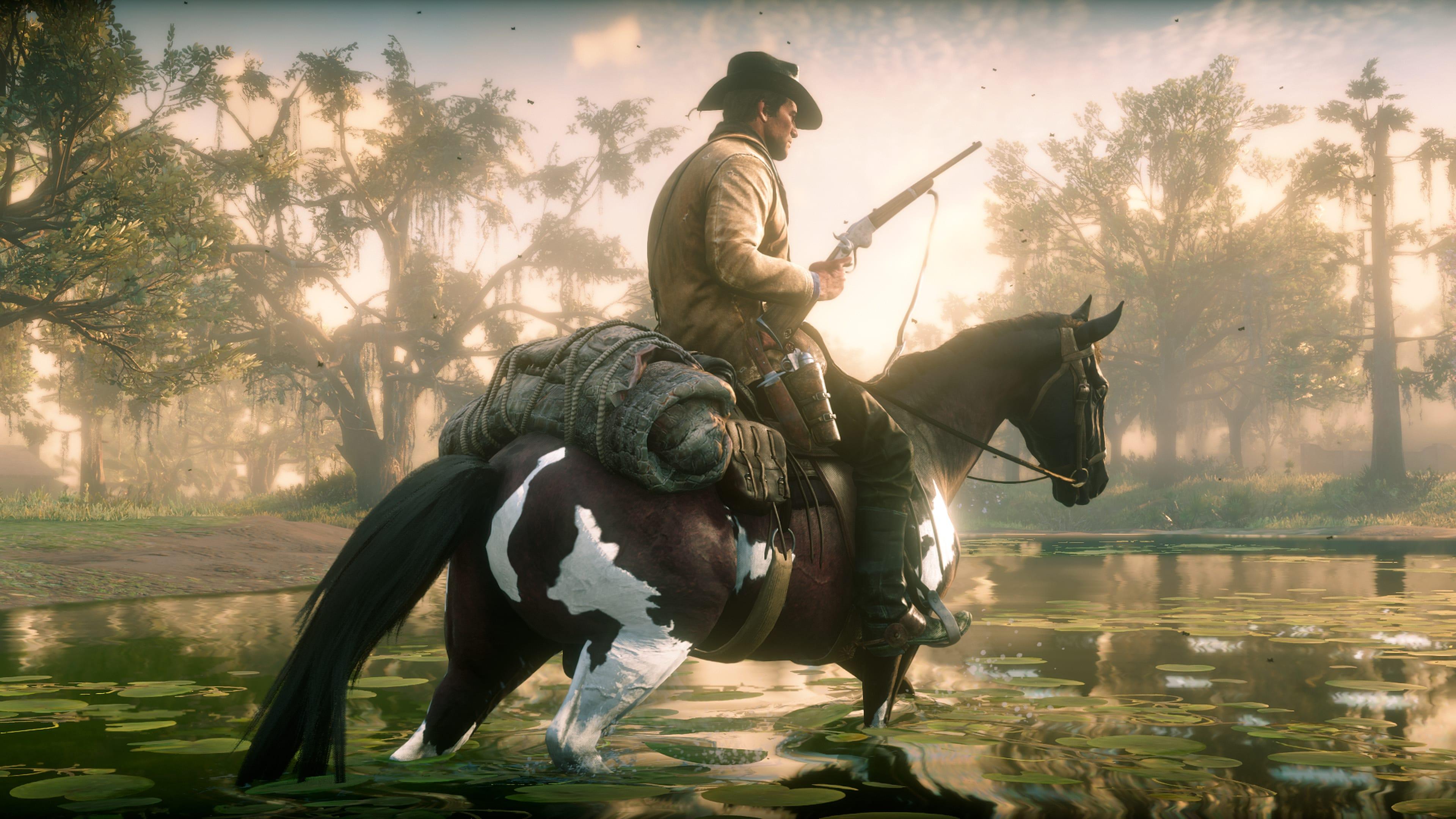 Red Dead Redemption 2 4k Ultra HD Wallpaper | Background ...