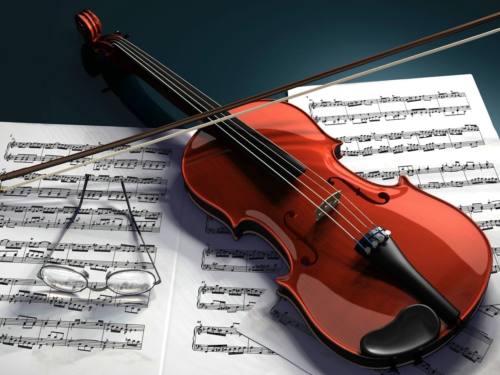 Music - Violin  Wallpaper