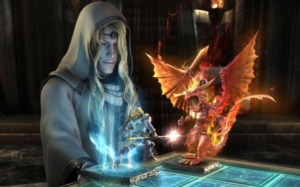 Fantaisie Magicien Echecs Fond d'écran HD | Arrière-Plan