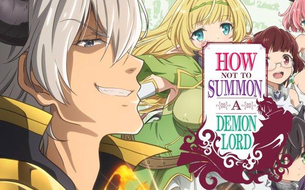 Anime How NOT to Summon a Demon Lord Fondo de pantalla HD   Fondo de Escritorio