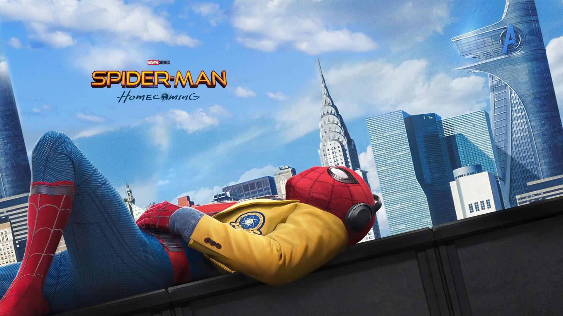 spider-man homecoming hd wallpaper | hintergrund | 1920x1080 | id