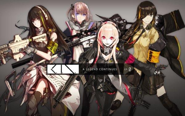 Video Game Girls Frontline M4 Sopmod II M4A1 AR15 M16a1 Eye Patch HD Wallpaper   Background Image
