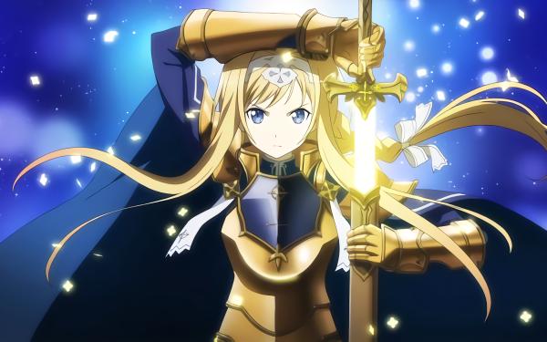 Anime Sword Art Online: Alicization Sword Art Online Alice Zuberg HD Wallpaper   Background Image