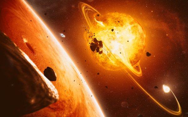Sci Fi Sun HD Wallpaper | Background Image