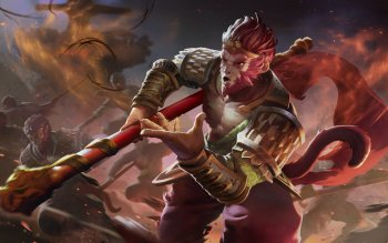 1 Monkey King Dota 2 Hd Wallpapers Background Images Wallpaper