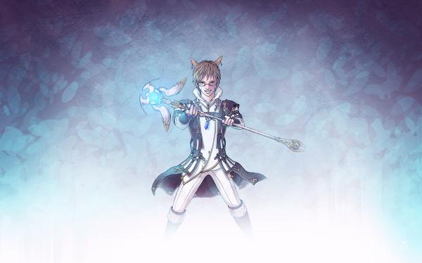 Video Game Final Fantasy XIV: A Realm Reborn Final Fantasy Miqo'te HD Wallpaper | Background Image