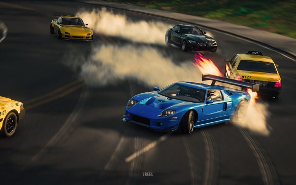 Video Game The Crew 2 Ford GT Ford HD Wallpaper | Background Image