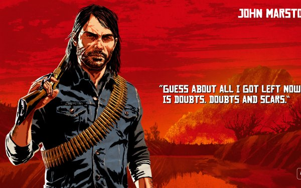 Video Game Red Dead Redemption 2 Red Dead John Marston HD Wallpaper   Background Image