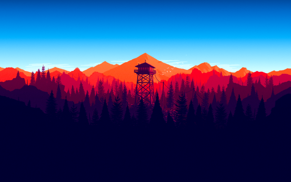 Video Game Firewatch HD Wallpaper   Background Image