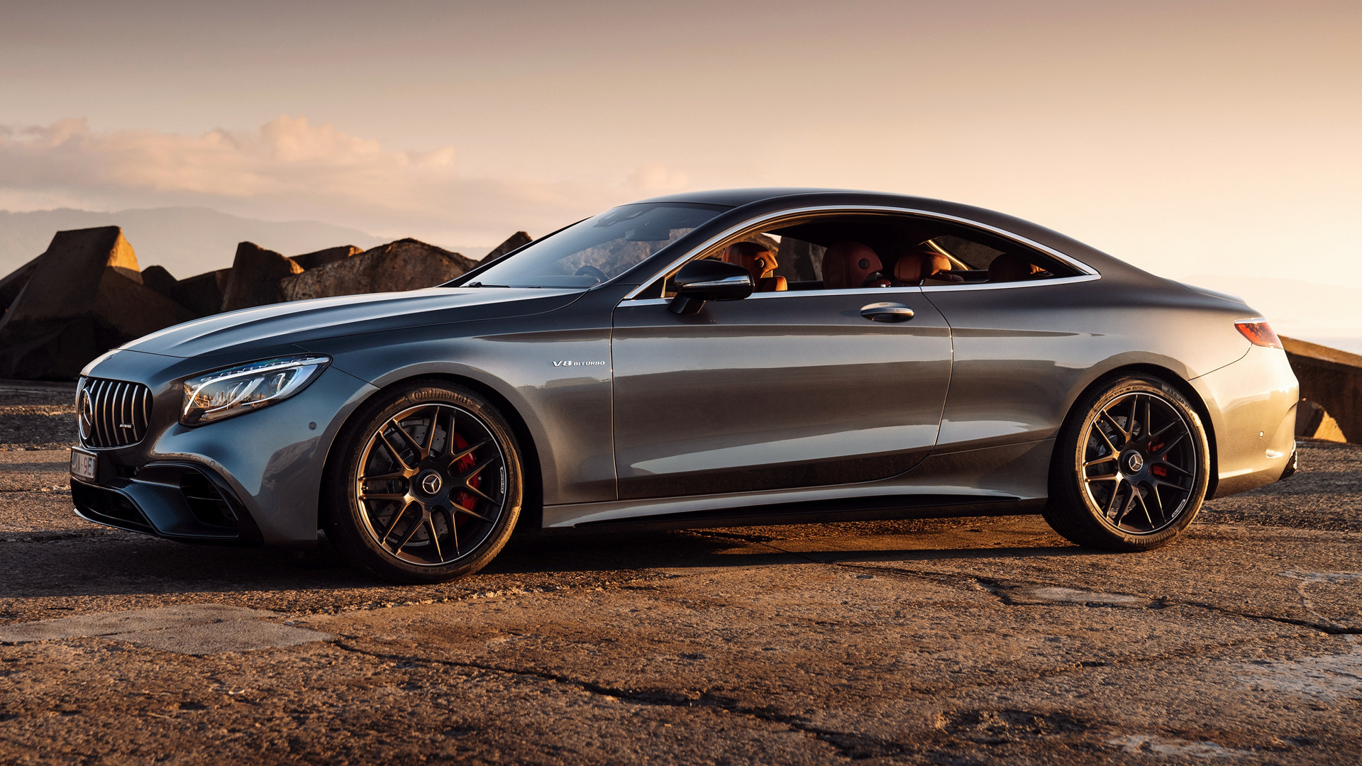2018 Mercedes Amg S 63 Coupe Hd Wallpaper Background Image