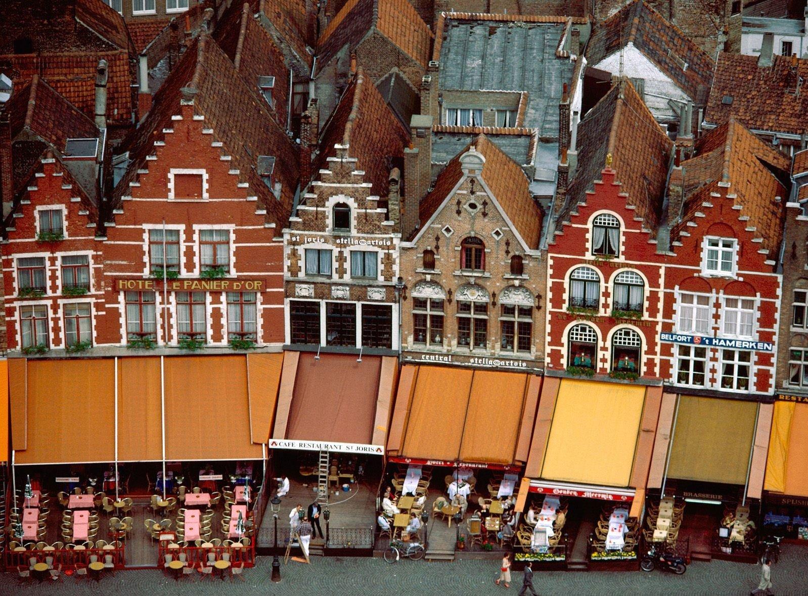 Grote Market Brugge Belgium Fondo De Pantalla And Fondo De