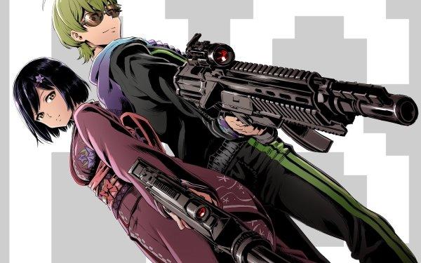 Anime Virtual Youtuber Shibuya Hajime Shizuka Rin HD Wallpaper   Background Image