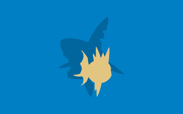 Anime Pokémon Carvanha Sharpedo HD Wallpaper | Background Image