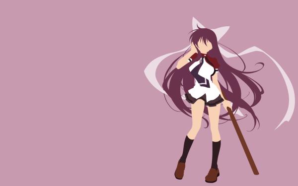 Anime Samurai Harem Ibuki Ikaruga HD Wallpaper   Background Image