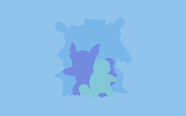 Anime Pokémon Squirtle Wartortle Blastoise HD Wallpaper | Background Image