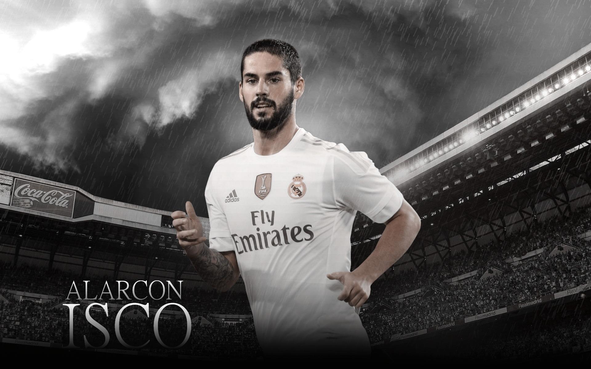 Isco Alarcon Real Madrid Fondo De Pantalla Hd Fondo De