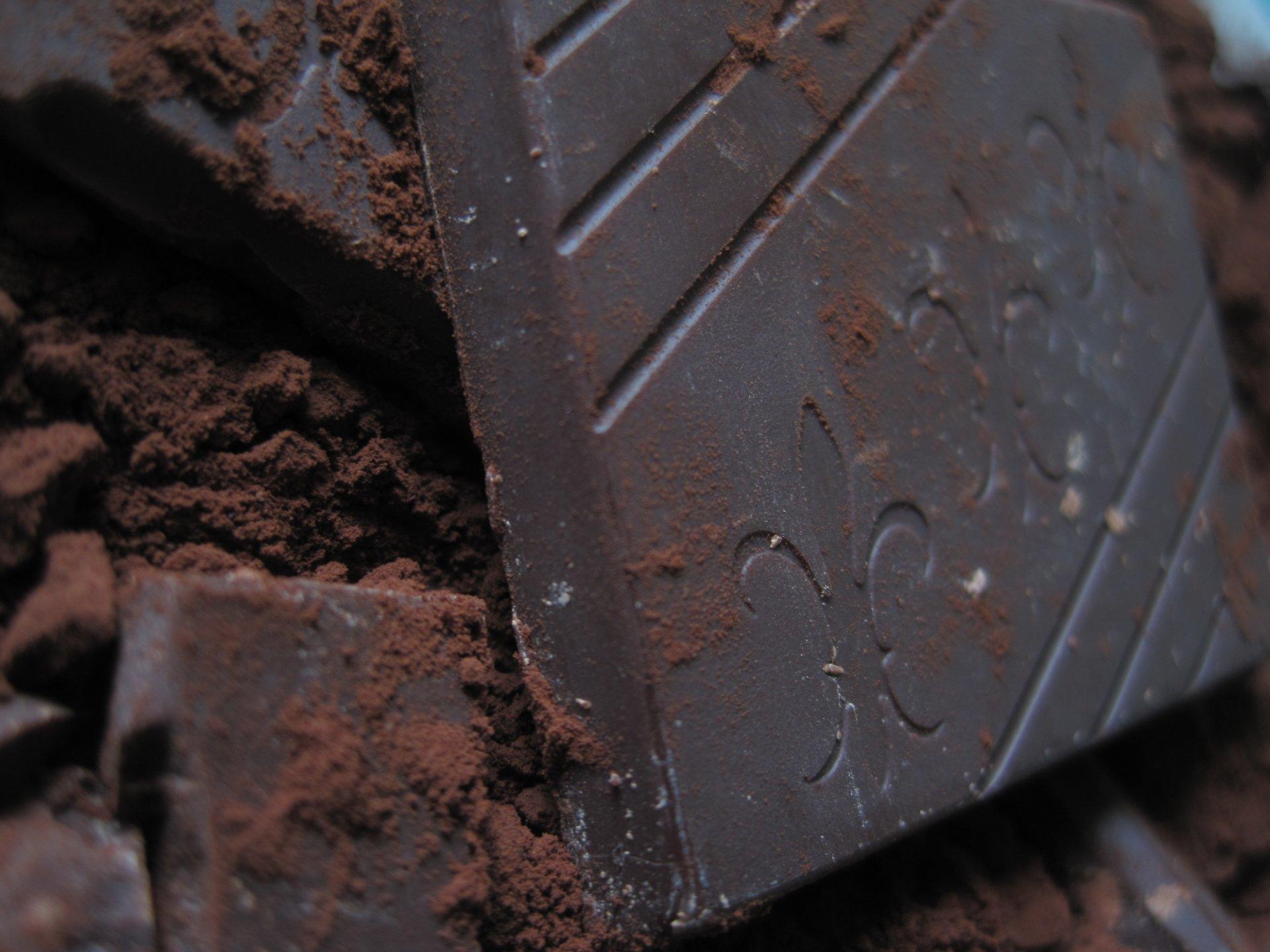 Alimento - Cioccolato  Amore Sfondo