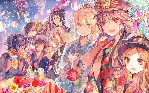Anime Fate/Grand Order Fate Series Demon archer Sakura Saber Okita Souji Oda Nobukatsu Hijikata Toshizō Okita Alter Okada Izou Rider Sakamoto Ryōma Chacha Oryou HD Wallpaper | Background Image