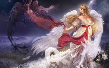 Fantasy - Angel Wallpapers and Backgrounds ID : 96641