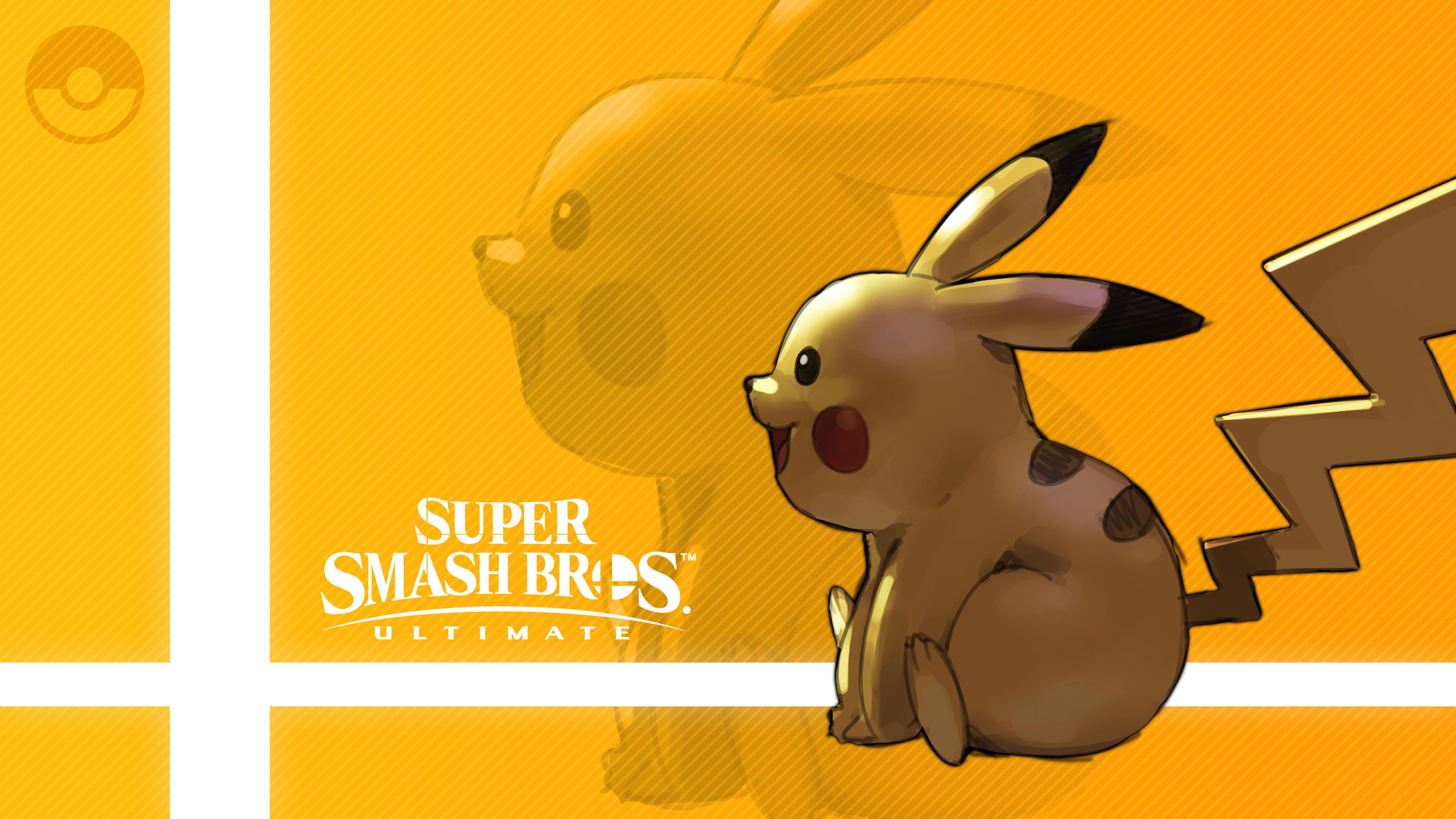 Pikachu In Super Smash Bros. Ultimate HD Wallpaper ...