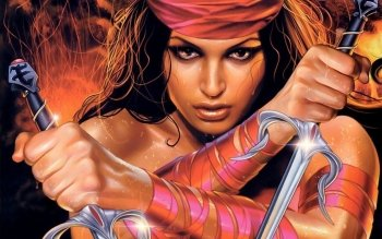 Fantasy - Women Warrior Wallpapers and Backgrounds ID : 96711