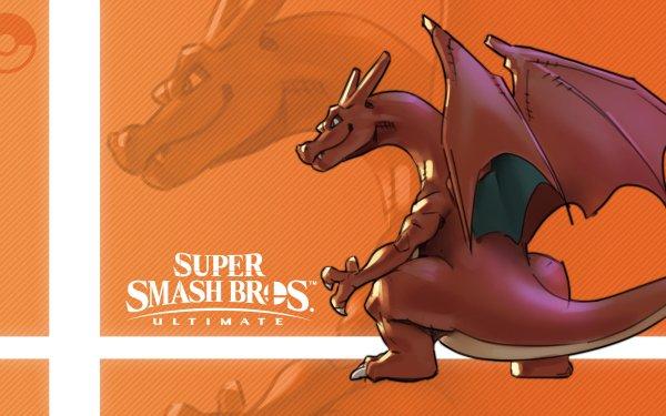 Video Game Super Smash Bros. Ultimate Charizard HD Wallpaper | Background Image