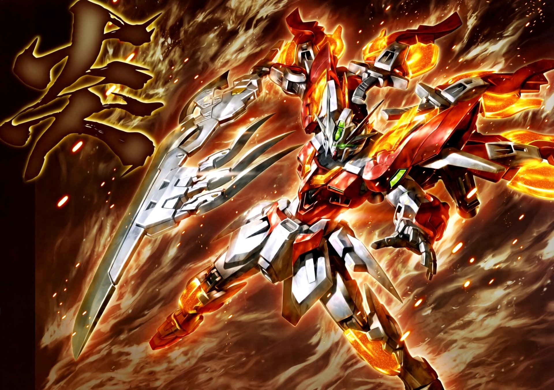2 4k Ultra Hd Mobile Suit Gundam Wing Wallpapers Background