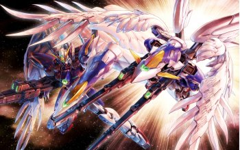 10 Mobile Suit Gundam Wing Hd Wallpapers Background Images