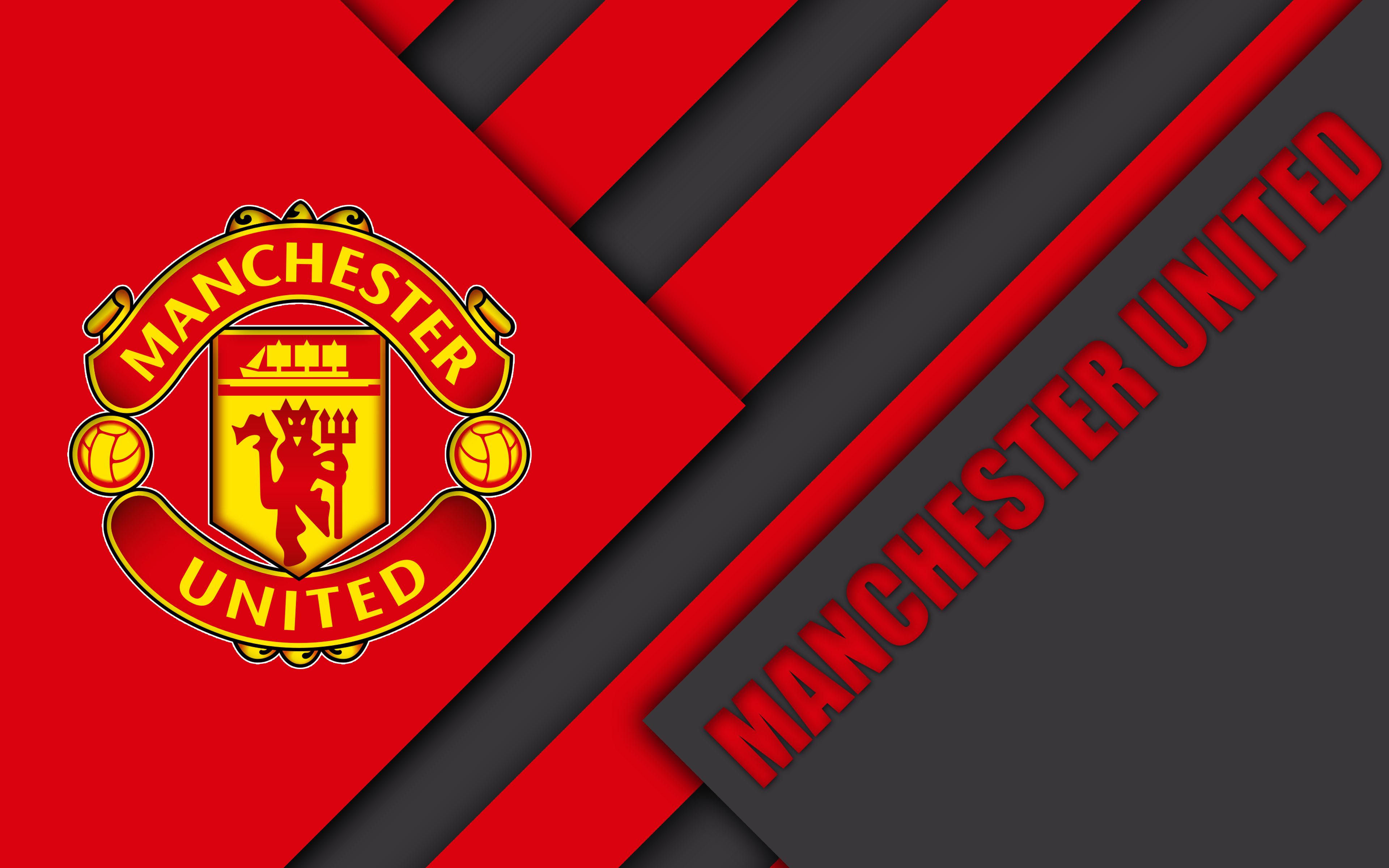 Manchester United Logo 4k Ultra HD ...