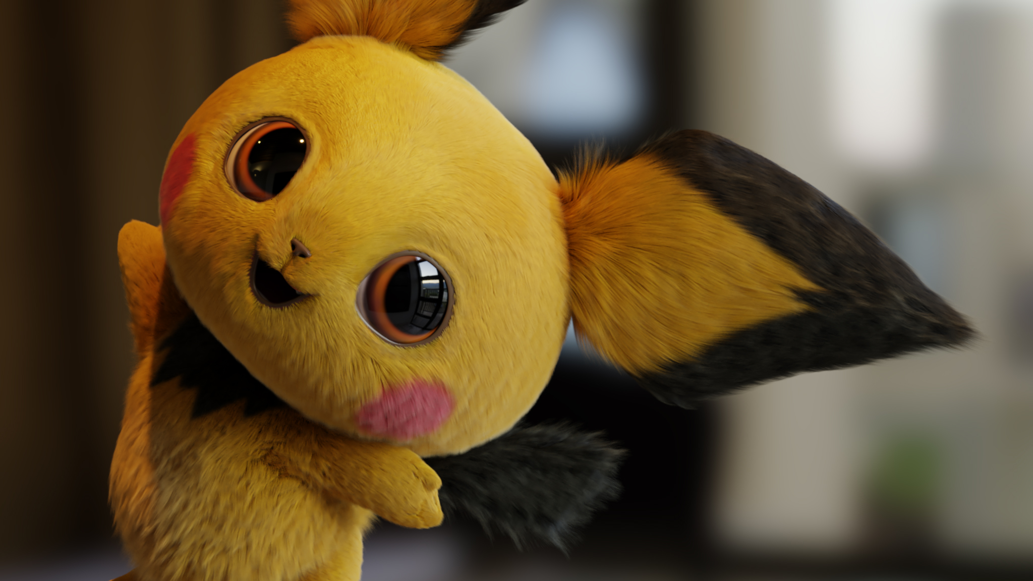 Pokémon Detective Pikachu HD Wallpaper | Background Image | 2048x1152 | ID:970342 - Wallpaper Abyss