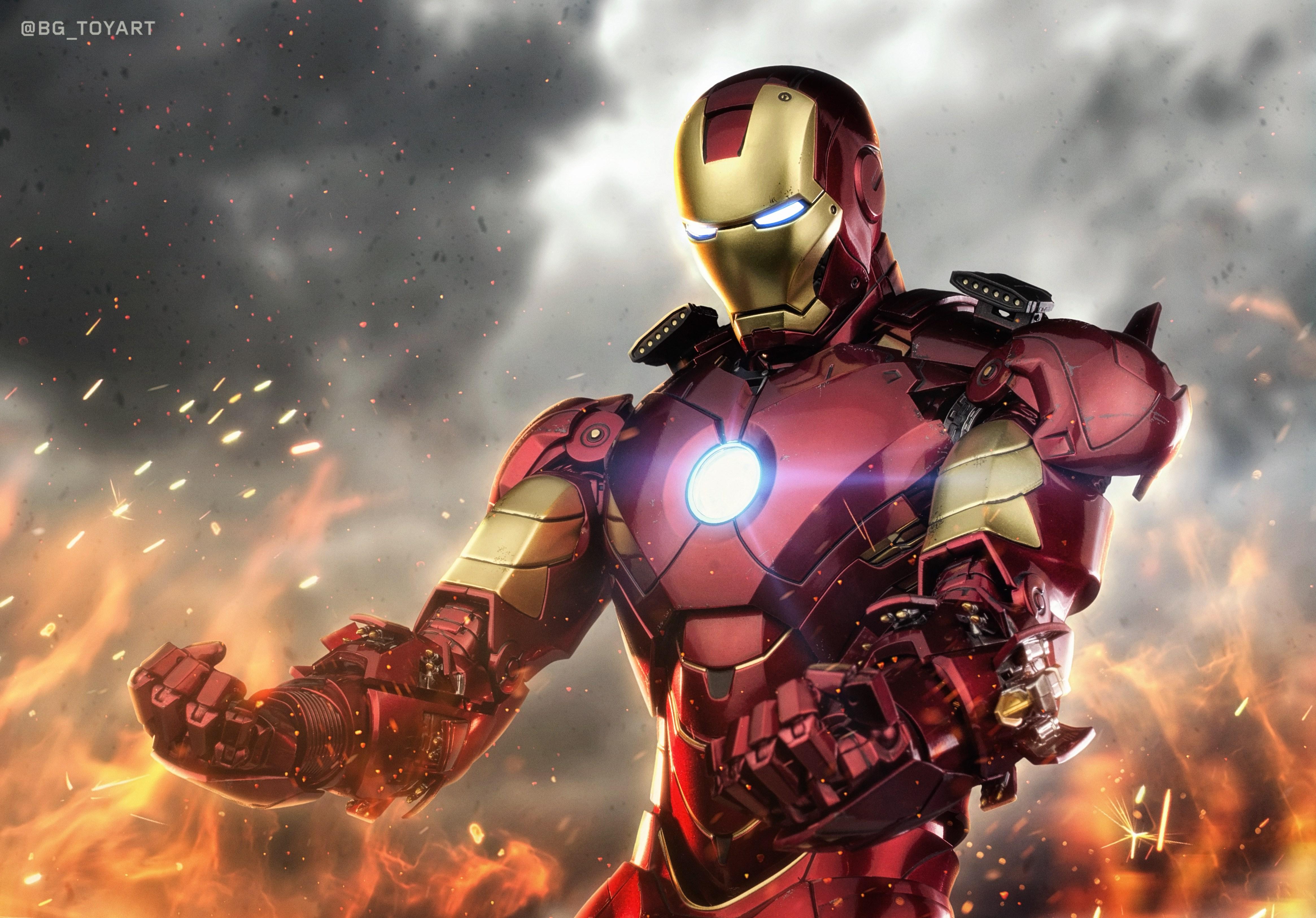 Iron man 4k ultra hd wallpaper background image 4661x3252 id 971650 wallpaper abyss - Iron man wallpaper 4k ...