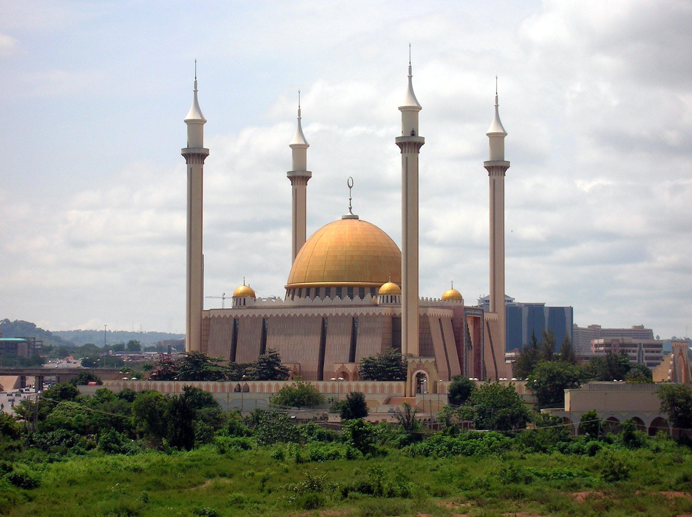 Religioso - Abuja National Mosque  Fondo de Pantalla