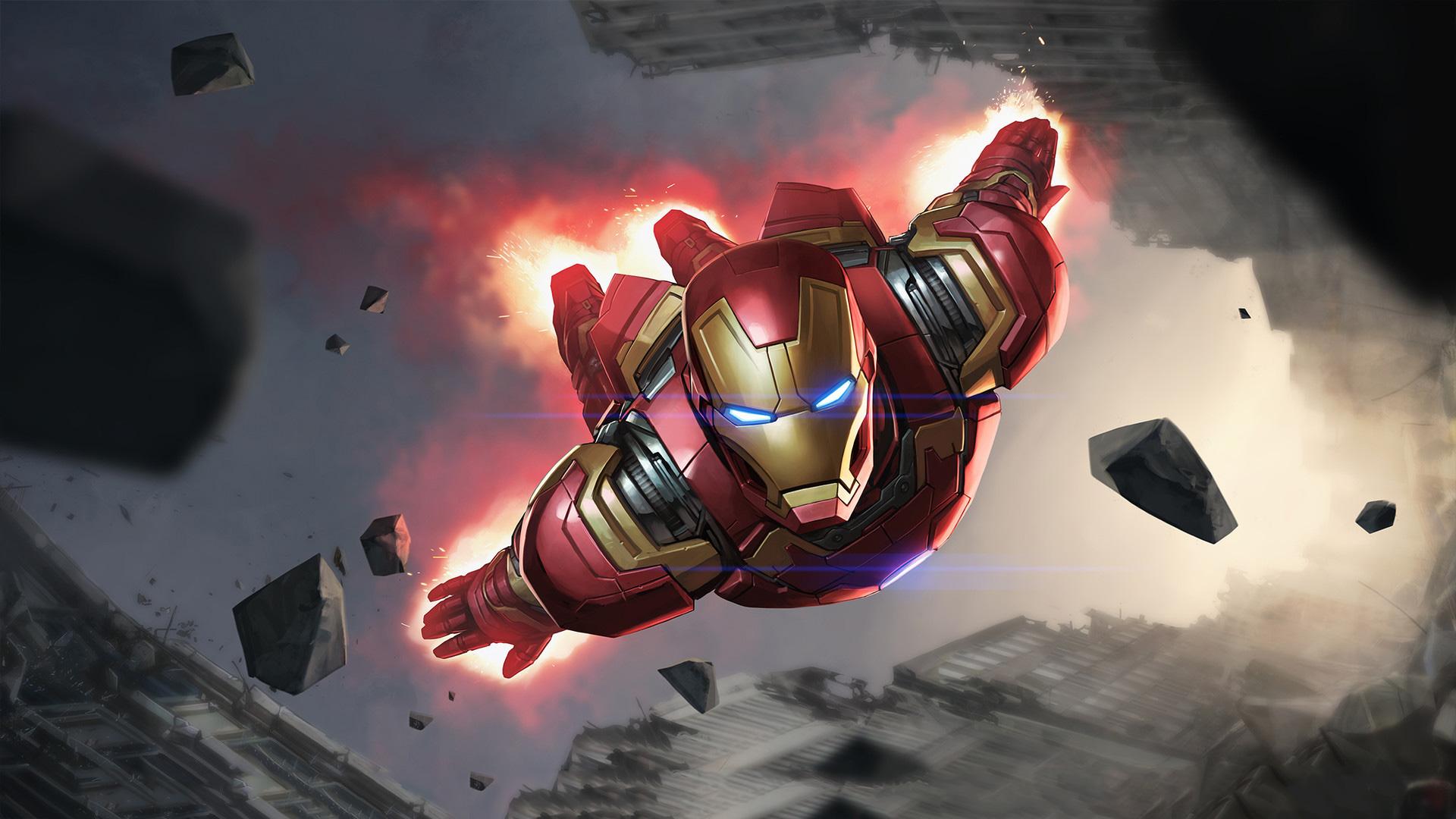 Iron Man Hd Wallpaper Hintergrund 1920x1080 Id973243