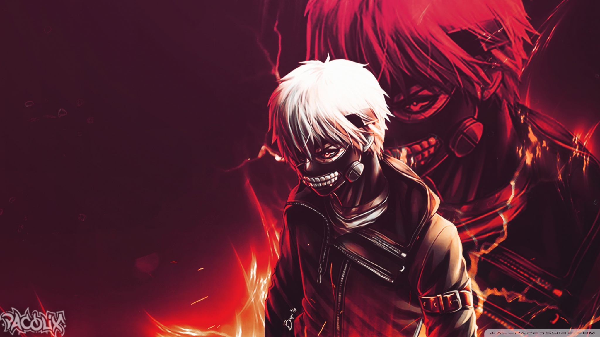 Tokyo Ghoul Hd Wallpaper Background Image 2048x1152 Id
